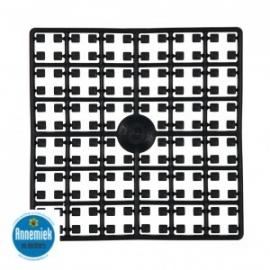 pixelmatje zwart 441