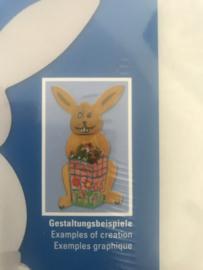 paashaas van karton (40 cm)