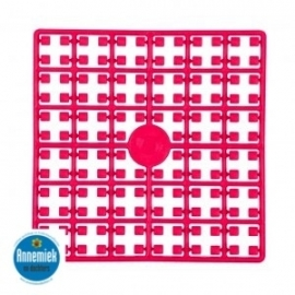 pixelmatje donker roze 435