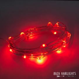 Ibiza hairlights! rood