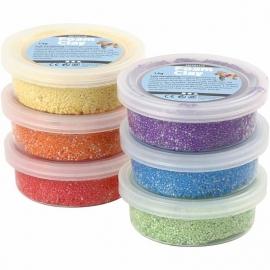 foam klei (6 doosjes metallic kleuren)