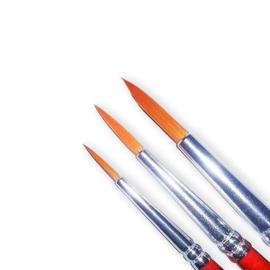 penselenset synthetisch maat 2, 4 en 6      41581