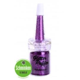 glitter puffer 5 ml paars