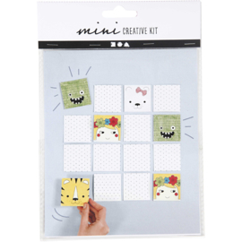 mini memorie set incl. stiften (zelf maken)