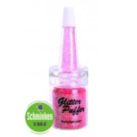 glitter puffer 5 ml pink