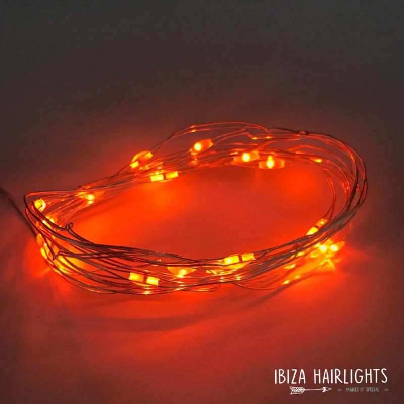 Ibiza hairlights! oranje