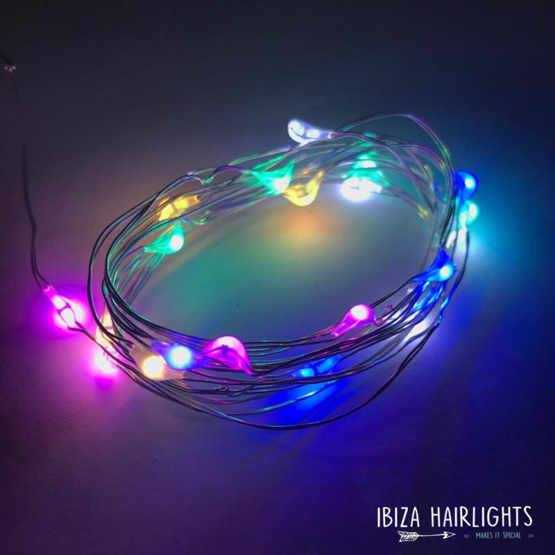 Ibiza hairlights!  mulitcolor