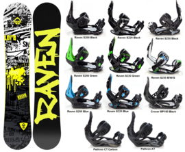 Raven Core 2020 Snowboard + Bindings