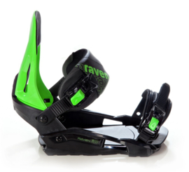Raven S200 Green 2020 Snowboard Bindingen