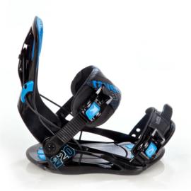 Raven S220 Blue 2020 Snowboard Bindingen