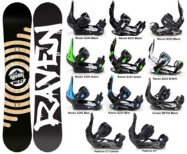 Raven Relict 2020 Snowboard + Bindings