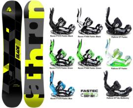Pathron Blade  2020 Snowboard + Fastec Bindingen