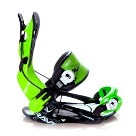 Raven FT270 Fastec Green 2020 snowboard bindingen