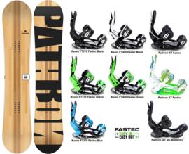 Pathron Slash 2020 Snowboard + Fastec Bindingen