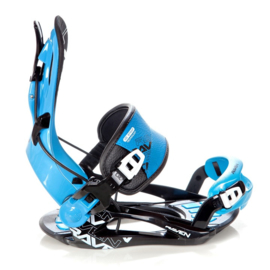 Raven FT270 Fastec Blue 2020 snowboard bindingen