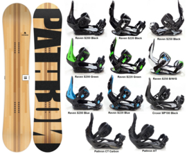 Pathron Slash 2020 Snowboard + Bindings
