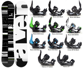 Raven Supreme 2020 Snowboard + Bindings