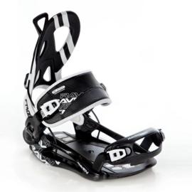 Raven FT400 Fastec Black 2020 snowboard bindingen
