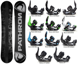 Pathron Draft  2020 Snowboard + Bindings
