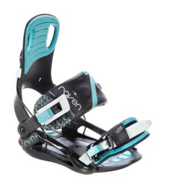 Raven Starlet Black/Mint 2020 Snowboard Bindingen