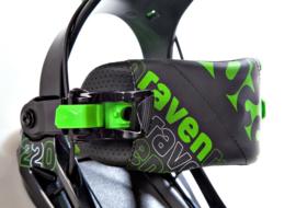 Raven S220 Green 2020 Snowboard Bindingen