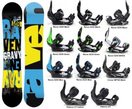 Raven Gravy 2020 Snowboard + Bindings