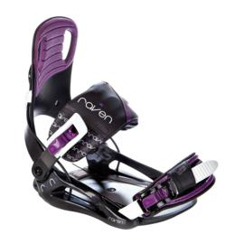 Raven Starlet Black/Violet 2020 Snowboard Bindingen