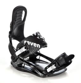 Raven S220 Black 2020 Snowboard Bindingen