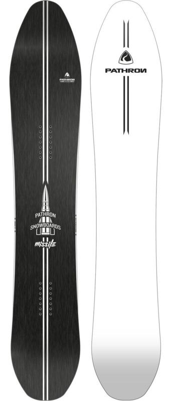 Pathron Missile White-Base 2020 Snowboard