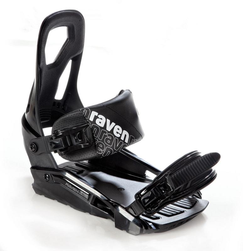Raven S200 Black 2020 Snowboard Bindingen