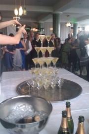 Champagnefontein vanaf € 199,--  (41 personen)