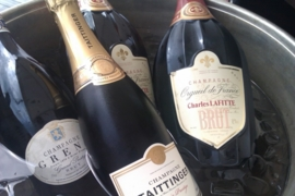 Champagneproeverij vanaf € 39,= p.p.