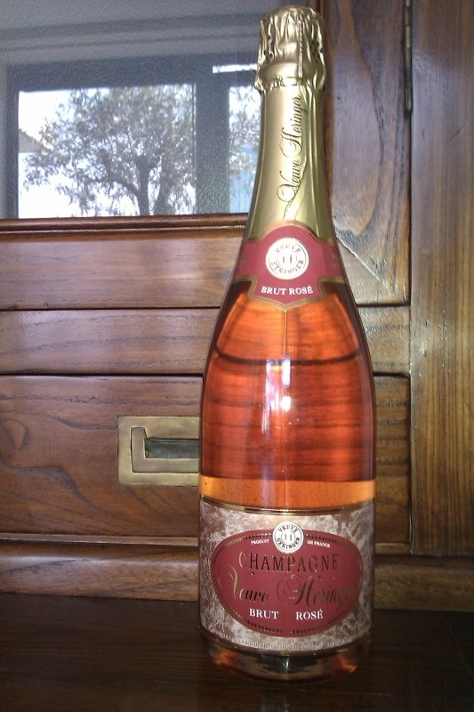 Veuve Heringer Brut Rosé € 28,= per fles