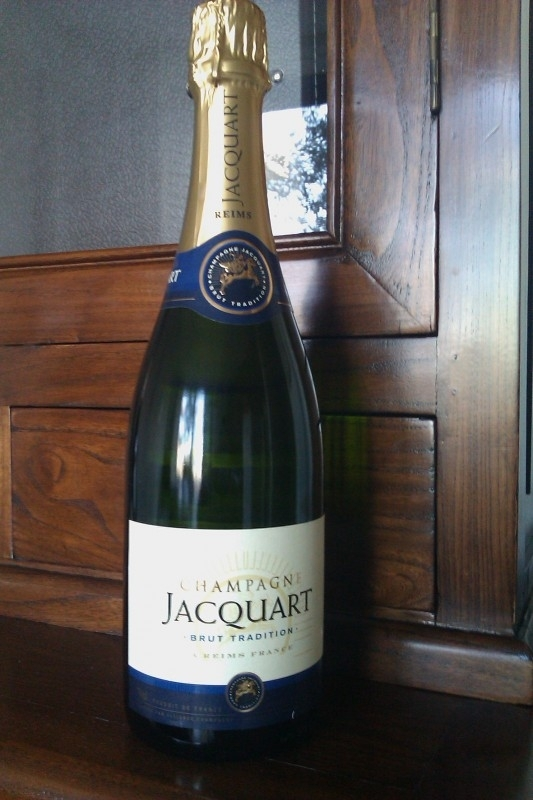 Jacquart Tradition € 26,= per fles
