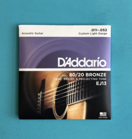 D'Addario Acoustic strings .011-.052