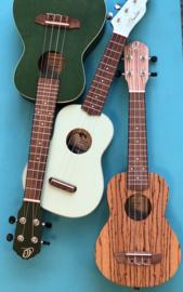 Ukelele soprano or concert Ortega and Fender