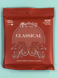 Martin Classical strings normal tension Ball end