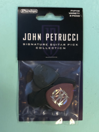 John Petrucci signature guitar pick collection