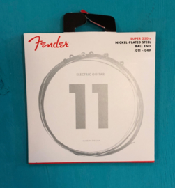 Fender Super 250's Nickel-Plated Strings  .011-.048 Ball End