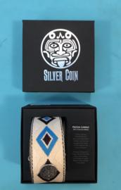 Silver Coin strap