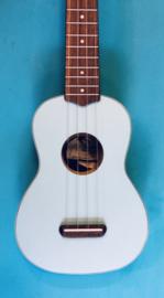 Fender ukelele sopraan Daphne Blue