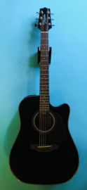 Takamine Dreadnought Cutaway Electro Noire