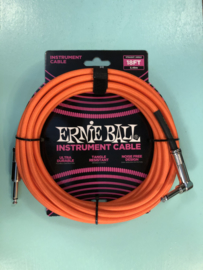 Ernie Ball Cable neon orange straight/angled