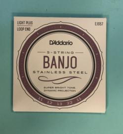 D'Addario banjo 5 snaar strings