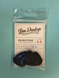Jim Dunlop primetone hand burnished plectra 2.5mm