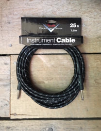 Fender Custom Shop 7.5 M black braided Instrument Cable