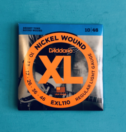 D'Addario electric strings EXL110 Nickel Wound 10-46