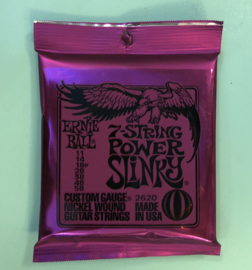 Ernie Ball 7-string power slinky 011-058