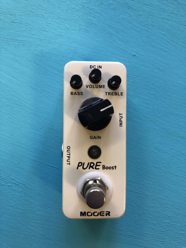 Mooer Pure Boost Gain Pedal Micro Series