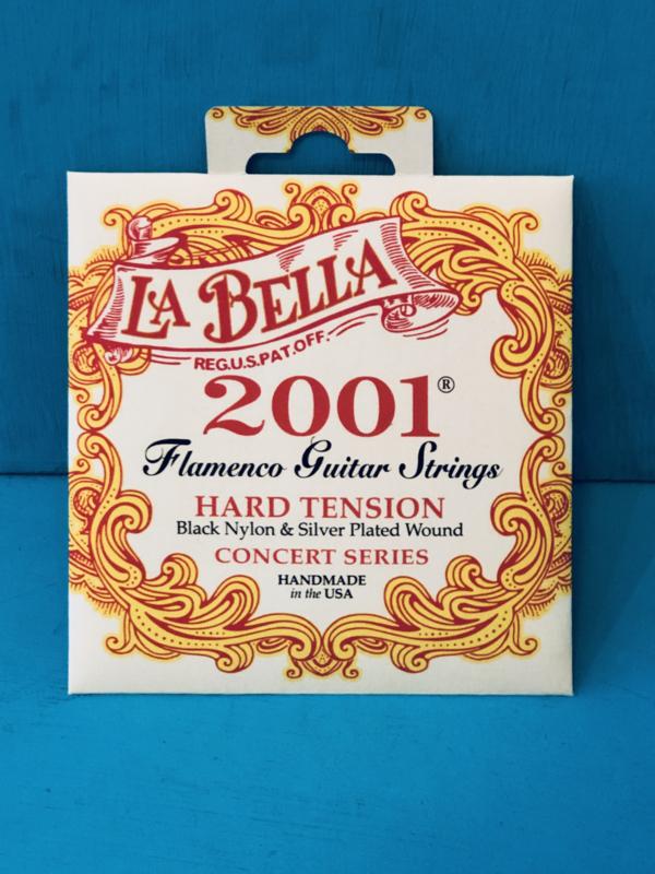 La Bella Flamenco Guitar Strings Hard Tension